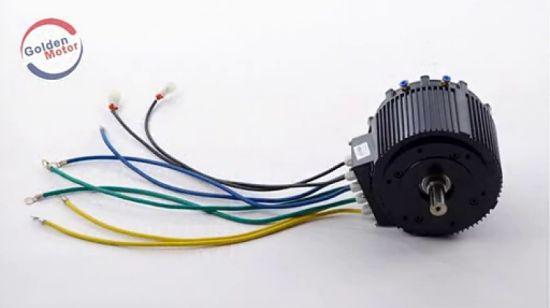 China 10kw Brushless Motor For Electric Car Kit Vehicle