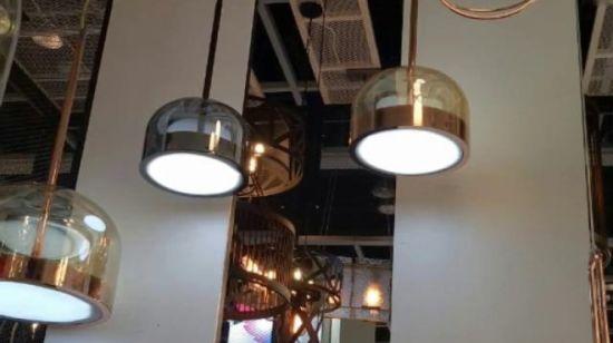 lámpara oblicuo LED China de Aluminio modernos Tubo colgante jqpVLzMGSU