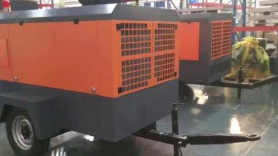 780 Cfm 20 Bar Portable Diesel Air Compressor Jack Hammer