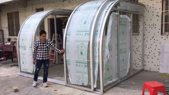 Chine Montage Mural Sun Abris Toit Terrasse De L Aluminium
