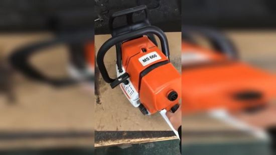 [Hot Item] Hh Factory Directly Selling 92cc Gasoline Ms660 Chainsaw for  Wholesale