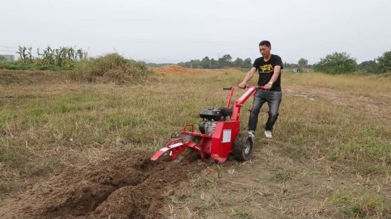 China 15HP 600mm Digging Trencher, Agriculture Machine Trencher