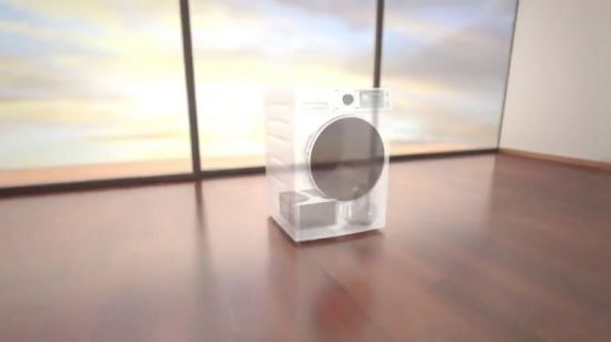China 7kg Home Front Loading Automatic Washing Machine Laundry