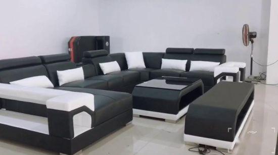 Chine Salon moderne meublé de canapés et des canapés ...