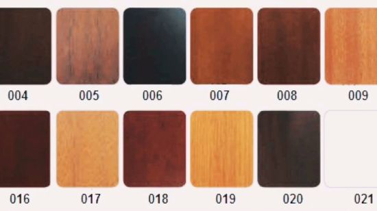 [Hot Item] MDF Melamine Interior Brown Good Price Wooden Door