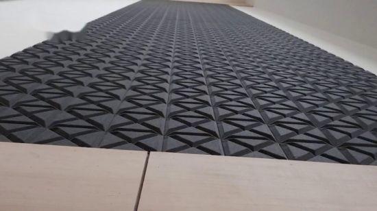 China 3d Edgy Acoustic Fiber Wall Decorative Panel China 3d