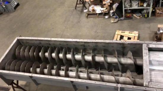 Транспортеры спиральные зерна конвейер на обогатительном фабрике
