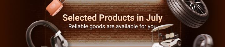 Selected Products in July