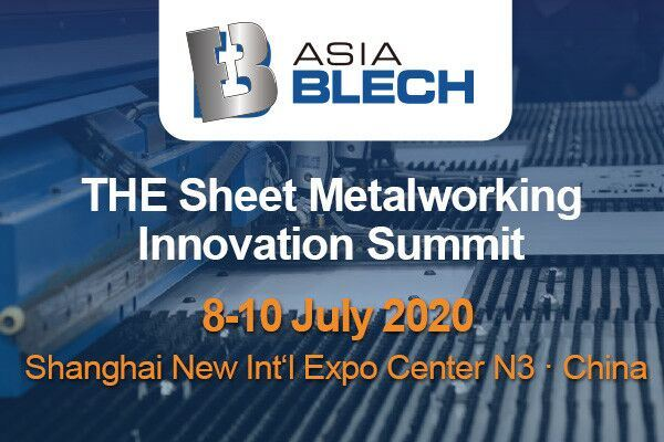 AsiaBLECH——The Sheet Metalworking Innovation Summit 2020