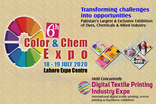 6th Color & Chem Expo concurrently held Digital Textile Printing Expo