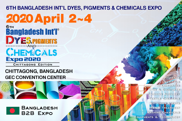 6th DYECHEM – Bangladesh Int'l Dyes, Pigments & Chemicals Expo 2020