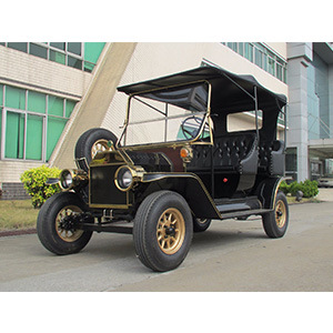 High-End 4 Wheeler Modern Style Battery Operated Club Golf Carts