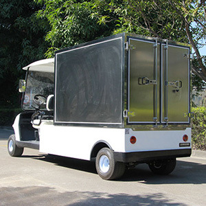 Electric 48V Utility Golf Cart with Steel Box for Luggage and transportation