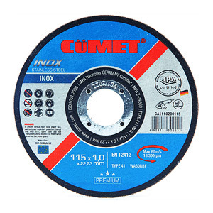 4.5'' 115mm Super Thin Cutting Wheel for Metal and Inox