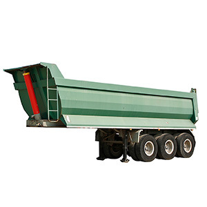 Fuwa 2 Axles 60-70ton Semi Hydraulic Dump/Tipper Trailer