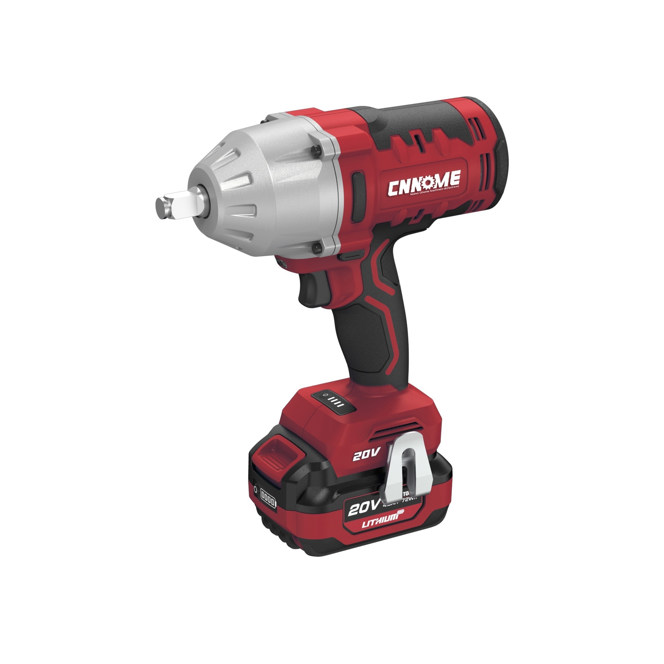 Heavy Duty Cordless 20V Brushless Super Torque 1000nm Impact Wrench Power Tools