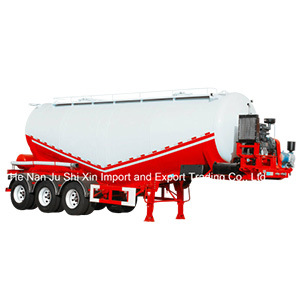 China Famous Brand High Quality Carbon Steel Bulk Cement Trailer for Sale