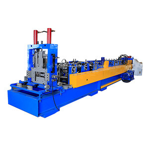 Automatic Changed CZ Purlin Cold Roll Forming Machine with PLC Control System Roller Form Machinery