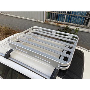 Universal 4X4 Aluminum Car Roof Luggage Rack Caro Carrier Basket for Toyota Hilux 4runner Fj150 Patrol Ford Ranger Jimny Pickup