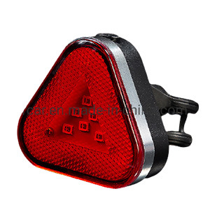 Bike Bicycle LED Taillight Rear Tail Safety Warning Cycling Portable Light