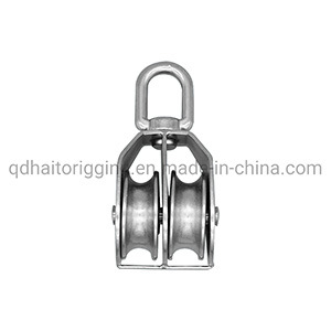High Quality Pulley with Single or Double Wheel