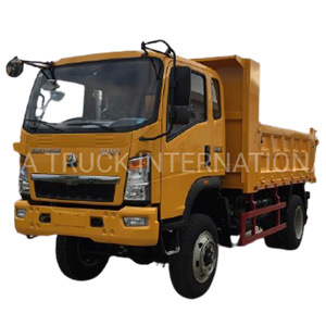 HOWO Sinotruck Hohan 4X2 5-10t New or Used Light Duty Cargo Dump Truck