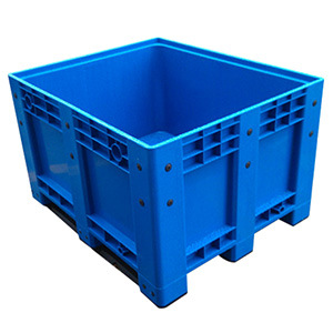Heavy Duty HDPE Large Solid Stackable Plastic Pallet Box for Auto Parts