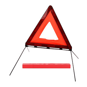 Roadway Emergency Tool Reflective Warning Triangle Traffic Safety Reflector for Car Use