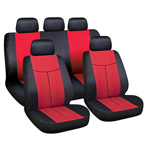 Comfortable Plush Car Seat Cover Dust Resistant