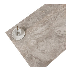 600X1200 Grey Stone-Like Wear Resistant Living Room Polished Glazed Floor Tile