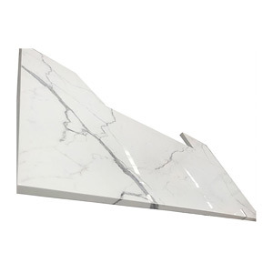Artificial White Marble Granite Quartz Stone/ Jade Stone/ Nano Glass/ Crystallized Glass Countertop for Kitchen Countertop (no anti-dumping for USA market)