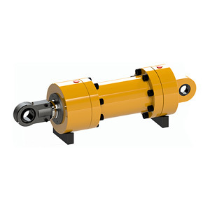 Free Design Customized Imported Seal High-Quality Brand Excavator Hydraulic Parts and Professional Manufacturer Hydraulic Oil Cylinders RAM for Sale
