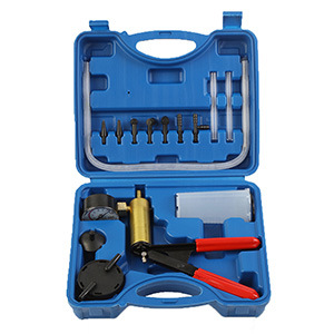 Brake Fluid Bleeder Hand Held Vacuum Pump Tester Kit