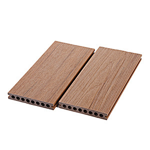 140X22mm WPC Capped Co-Extrusion Wood Plastic Composite Decking