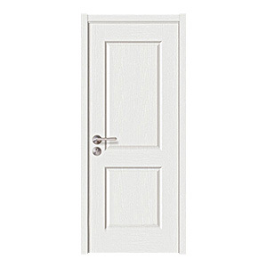 White Primer Interior Hollow Core Wooden Solid Wood Door (JHK-017)