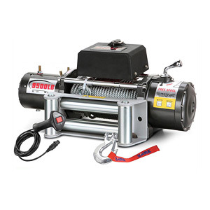 4X4 Winch PS9500 Power Winch with Wireless Remote Control 12V/24V