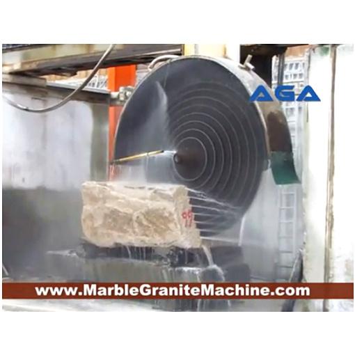 Multi Blades Stone Block Cutting Machine With Granite Marble Cutter Dq2200 2500 2800