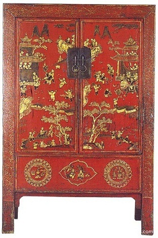 Charmant Chinese Antique Furniture Painting Cabinet (ART 006)   Chinese Classic  Furniture, Chinese Antique Furniture