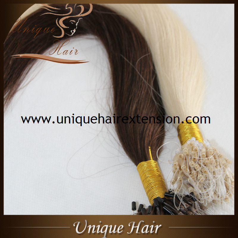 China Factory Price European Remy Micro Loop Hair Extensions China