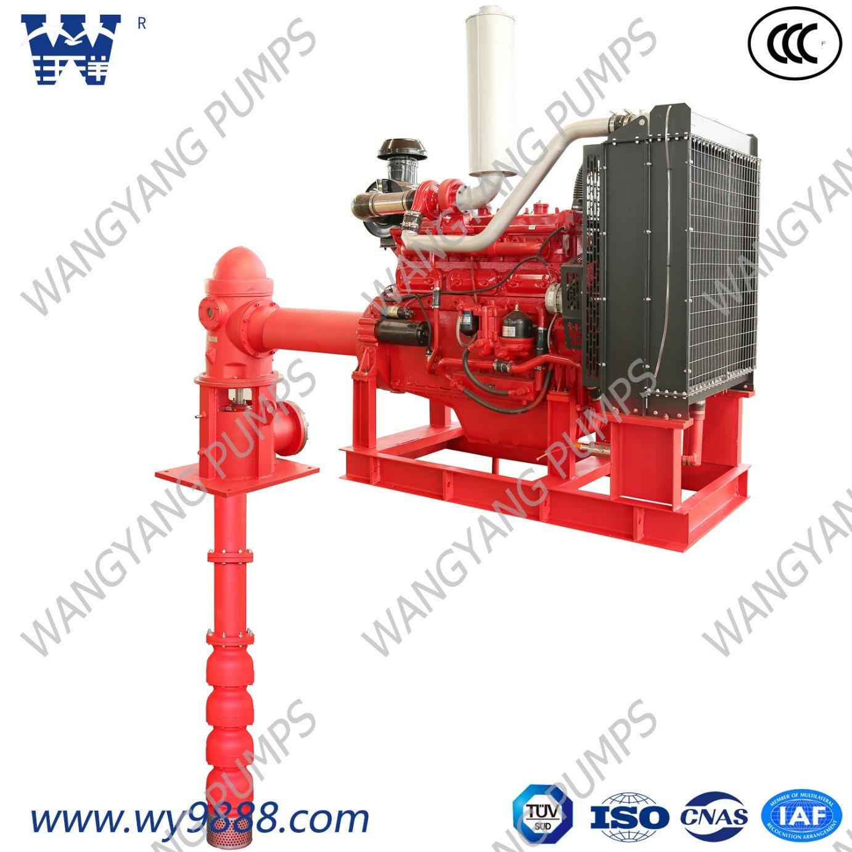 china vertical turbine fire pump driven by diesel engine. Black Bedroom Furniture Sets. Home Design Ideas
