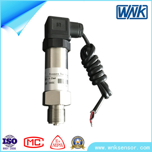 4-20mA Pencil Type Stainless Steel Pressure Transmitter for Water Tank-Factory Price pictures & photos