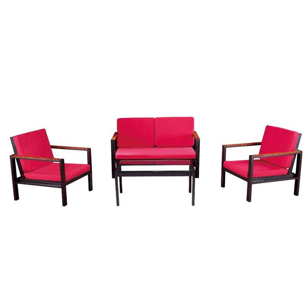 [Hot Item] Modern Outdoor Garden Lounge Furniture Cheap Sofa Set