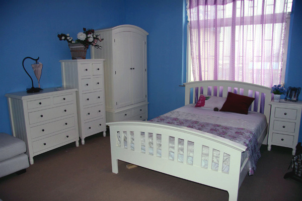 China Sinoah 723 Range White Solid Pine, White Bedroom Furniture Sets The Range