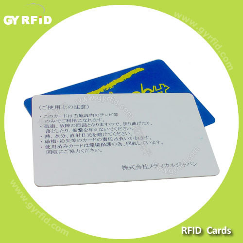 goldcard gold card nfc business cards for attendance system gyrfid - Nfc Business Cards
