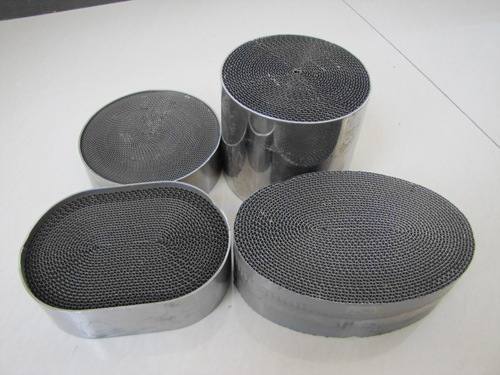 Catalytic Converter Metal Honeycomb Substrate for Cars/Motorcycle
