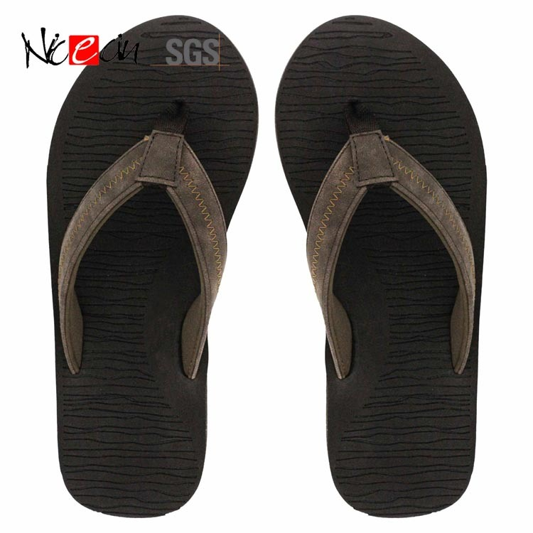 China Black Wholesale Soft Men Flip Flop Bedroom Shoes China Custom Flip Flop And Indoor Slipper Price