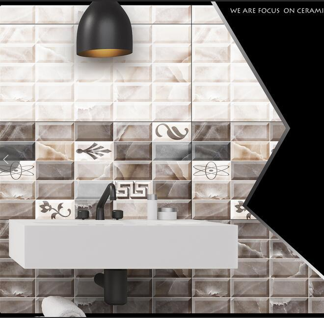 China Professional 3d Glossy Front Wall Tiles Company In China