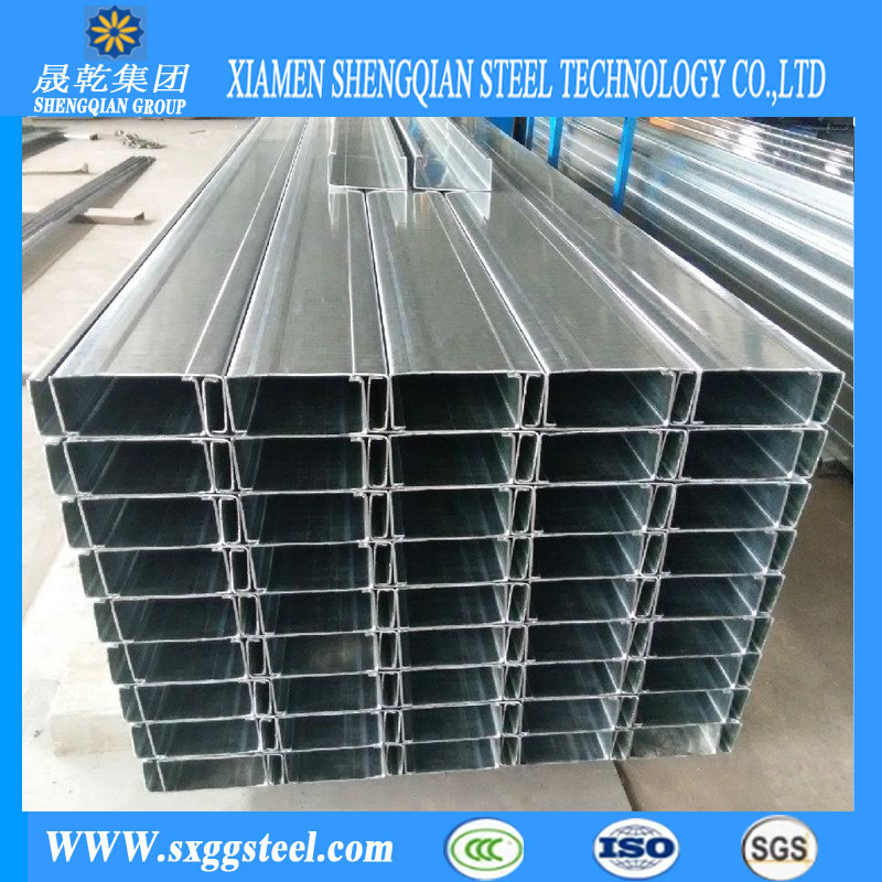 China Galvanized C150*50*20 C Purlins Section for Building