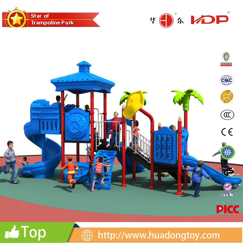 China Factory Price Hot Selling Kindergarten Kids Outdoor Playground  Plastic Slides   China Outdoor Playground, Kidu2032s Playground