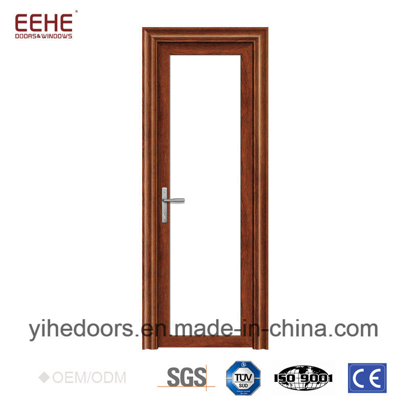 China Aluminum Bathroom Door With Frosted Glass Waterproof Photos